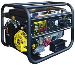 Бензиновый генератор Huter DY6500LXA с блоком автоматики