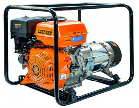 Бензиновый генератор Aurora ABE 5500 RUN (бензин+газ)
