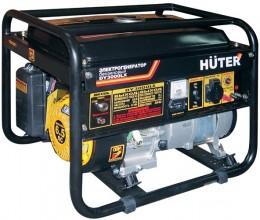 Бензиновый генератор Huter DY3000LX