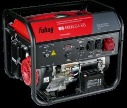 Бензиновый генератор Fubag BS 6600 DA ES c коннектором автоматики