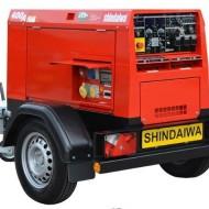 Сварочный генератор SHINDAIWA DGW400DMK