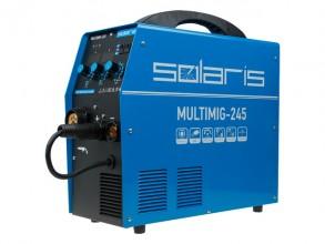 Сварочный полуавтомат Solaris MULTIMIG-245 (MIG-MMA-TIG)