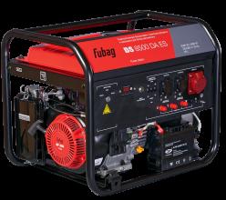 Бензиновый генератор Fubag BS 8500 DA ES c коннектором автоматики