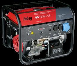 Бензиновый генератор Fubag BS 7500 A ES c коннектором автоматики