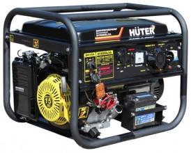 Бензиновый генератор Huter DY8000LXA с блоком автоматики